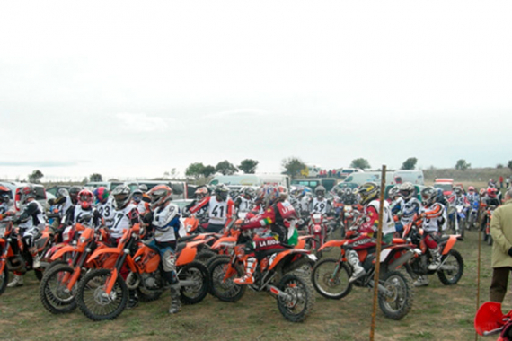 2 horas cross country Monte el Corvo de Motos 20-04-08 Campeonato Open Zona Norte